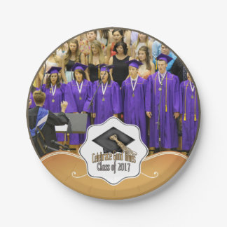 Class of 2017 Celebrate Good Times Graduation Gift Paper Plate
