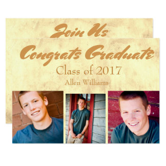 Class of 2017 Gold Graduate Card