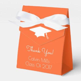 Class Of 2017 Graduation Favor Boxes (Orange)