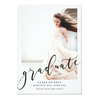 CLASS OF 2017 GRADUATION Graduation Invitation