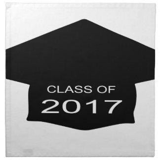 Class of 2017 Hat Cloth Napkin