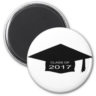Class of 2017 Hat Magnet