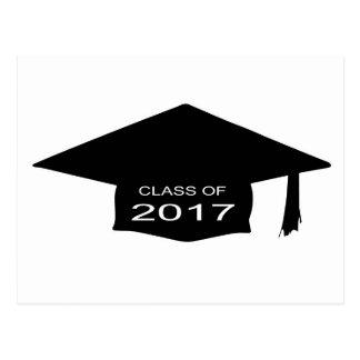 Class of 2017 Hat Postcard