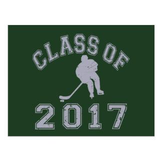 Class Of 2017 Hockey Postcard