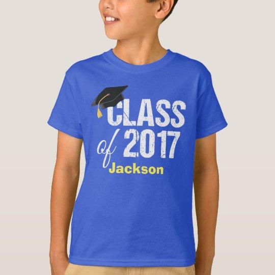 Class of 2017 Kindergarten Graduation Custom T-Shirt