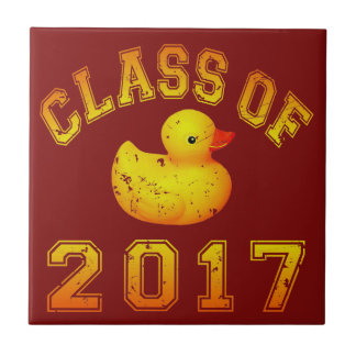 Class of 2017 Rubber Duckie Tiles