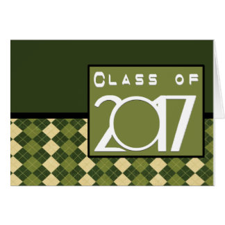 Class of 2017 Thank You Note Cards