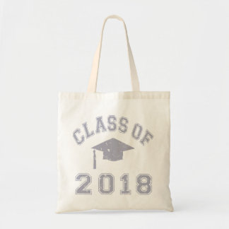 Class Of 2018 Graduation -  Grey Budget Tote Bag