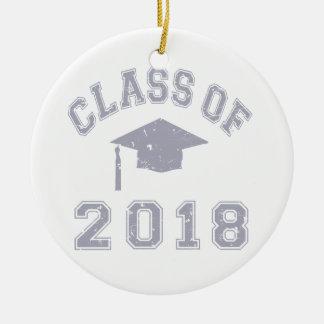 Class Of 2018 Graduation -  Grey Christmas Ornaments