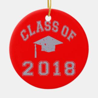 Class Of 2018 Graduation -  Grey Ornaments