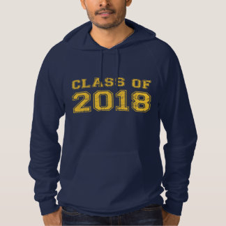 Class Of 2018 Hooded Pullover