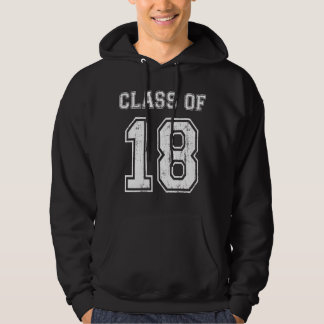 Class Of 2018 Hooded Pullovers