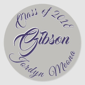 Class of 2018 Jordyn Gibson Graduation Seal NHS