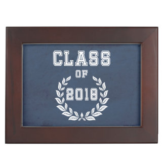 Class of 2018 keepsake box