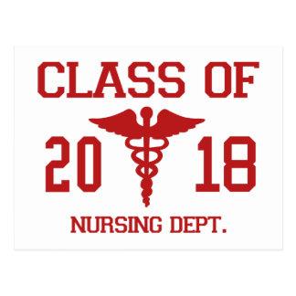 Class Of 2018 Nursing Dept Postcard