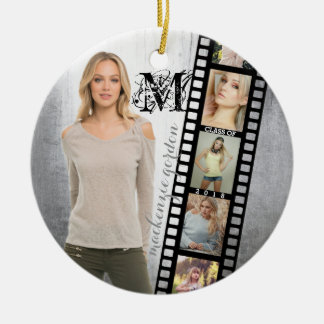 Class of 2018 Senior Portrait Graduate Photo Frame Christmas Ornament
