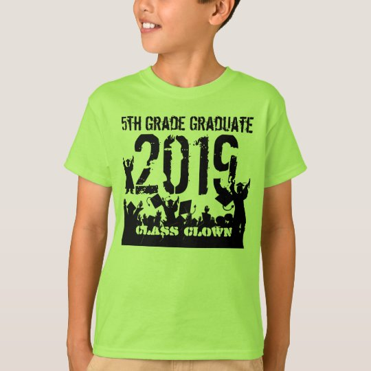 Class of 2019 5th Grade Grad T-Shirt