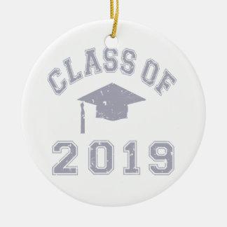 Class Of 2019 Graduation - Grey Ornament