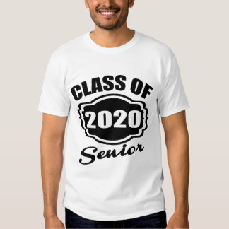 CLASS OF 2020 SENIOR T-SHIRTS