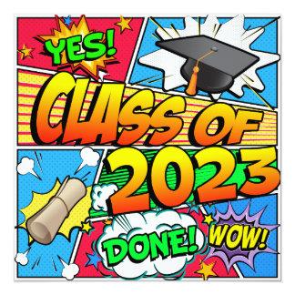 Class of 2023 Comic Book Card