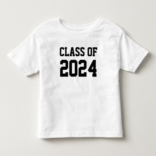 Class of 2024 toddler T-Shirt