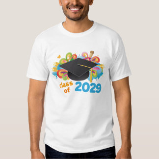 Class of 2029 Graduate Hat Gift Idea Tees