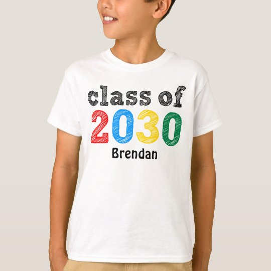 Class of 2030 Personalised T-Shirt