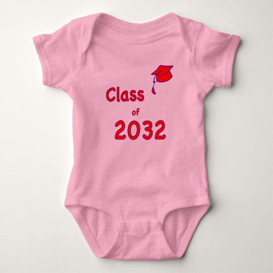 Class of 2032 baby bodysuit