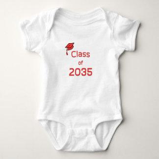 Class of 2035 baby bodysuit