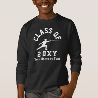 Class of 20?? Fencing T-Shirt
