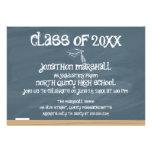 Class of 20xx - Chalkboard Custom Announcements