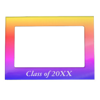 Class of 20XX dazzling magnetic frame