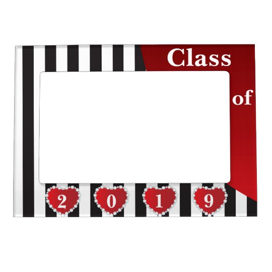 Class of 20XX - Graduation Magnetic Picture Frame