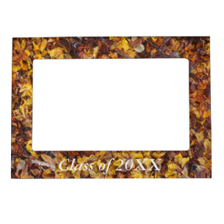 Class of 20XX magnetic frame - leaf litter