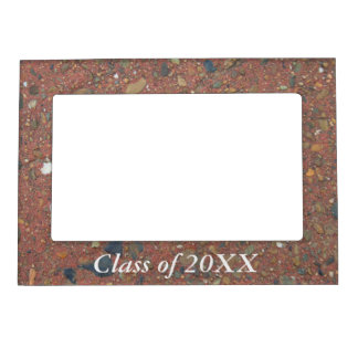 Class of 20XX magnetic frame - sand and pebbles