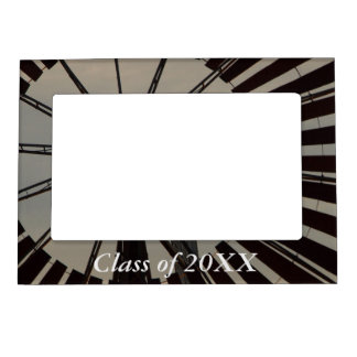 Class of 20XX magnetic frame - Windmill silhouette