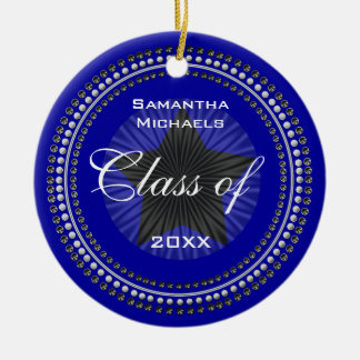 Class of 20XX Star Graduation Ornament