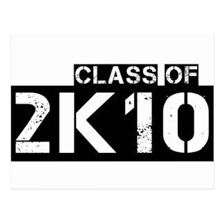 class of 2k10 (2010) postcard