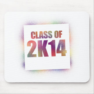 class of 2k14, class of 2014 mouse pad