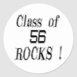 Class of '56 Rocks! Sticker