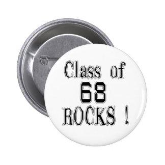 Class of 68 Rocks Button