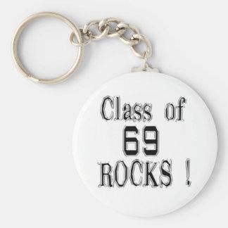 Class of '69 Rocks! Keychain