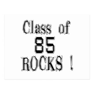 Class of '85 Rocks! Postcard