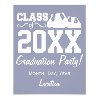 Class of ANY year custom flyers