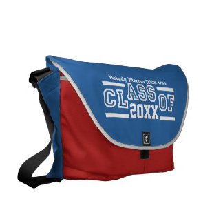 Class of ANY Year custom messenger bag