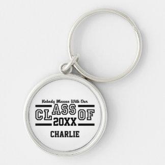 Class of ANY Year custom name key chain