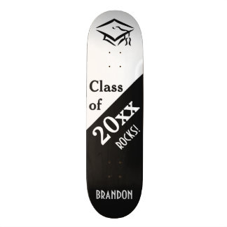CLASS OF (any year) custom name skateboards