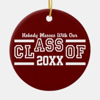 Class of ANY Year custom ornament