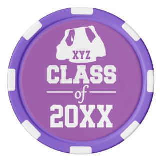 Class of ANY year custom poker chips