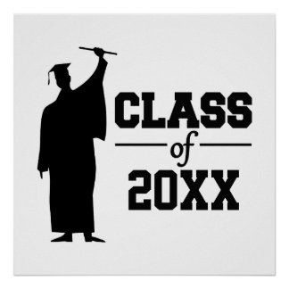 Class of ANY year custom poster